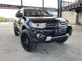 Pajero Dakar VGT AT 2014 Hitam Full Original Kondisi Sangat Istimewa