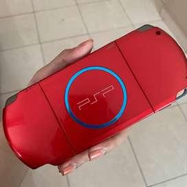 Sony PSP 3000 Warna Merah Bekas