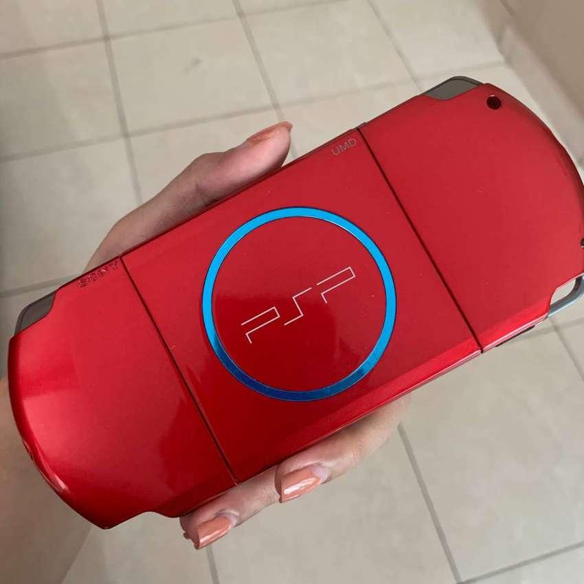 Sony PSP 3000 Warna Merah Bekas 0