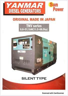 Genset Diesel Silent 13kva YANMAR SP-13Y