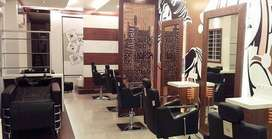 1300 sqft well furnished beauty parlor rent in sarat Bose main road