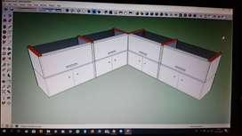 Design Etalase Untuk Konter HP Murah