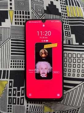 Samsung m31 6gbram 128gb 1 month old phone