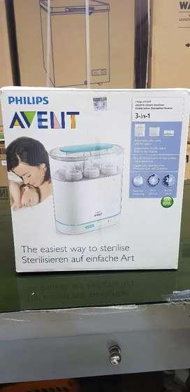 Electric Steam Sterilizer Philips AVENT 3 in 1..cuci gudang!!