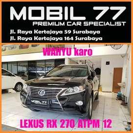 Lexus Rx 270 ATPM 2.7 Face lift 2012