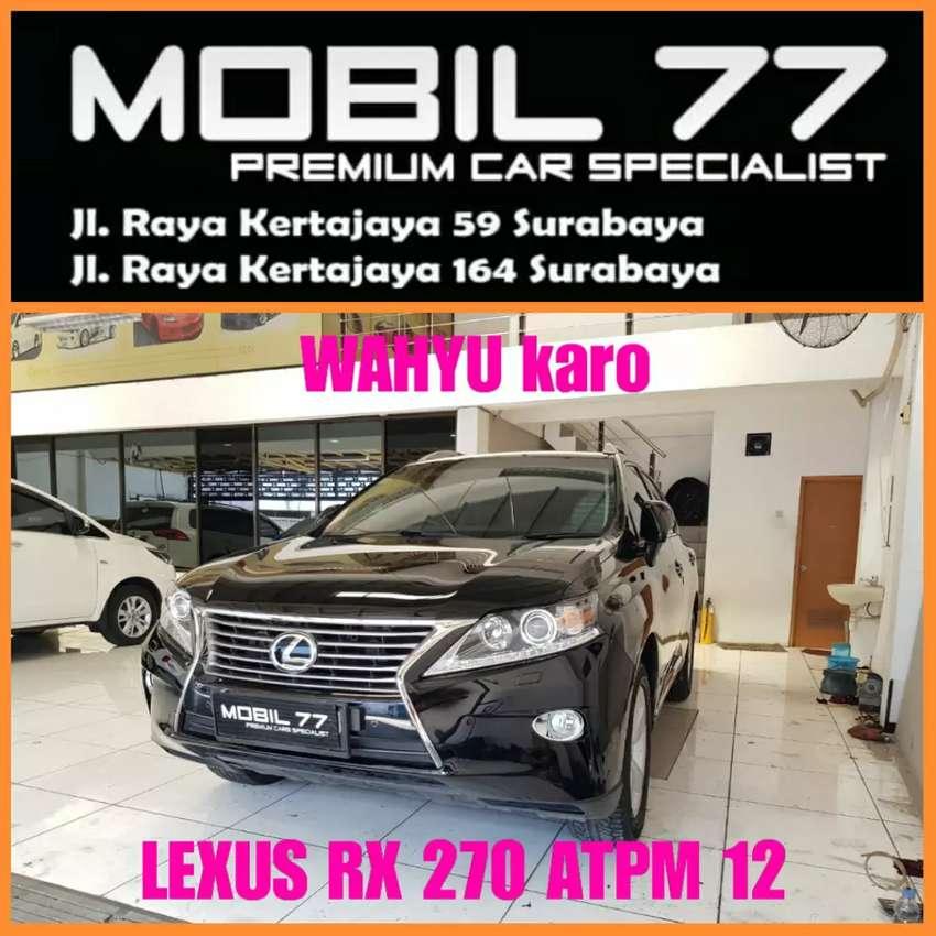 Lexus Rx 270 ATPM 2.7 Face lift 2012 0