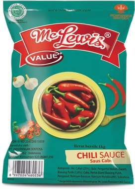Mc Lewis saos sambal tomat murah