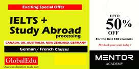 Exciting special offer for IELTS + processing...