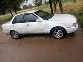 Car japani sunny Nissan in very good condition  fresh look.
