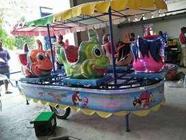 odong 2 kereta panggung ikan nemo fiber Kuat DO