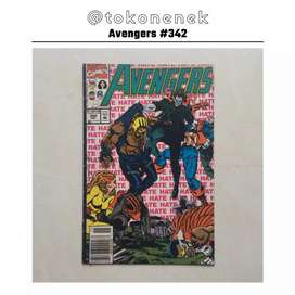 Komik Avengers issue #342