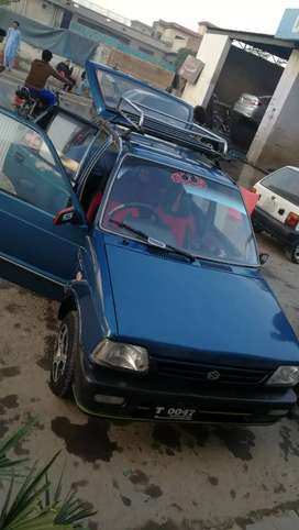 Mehran Alto 1992 model demand 2lac 35000 karchai number bule colour