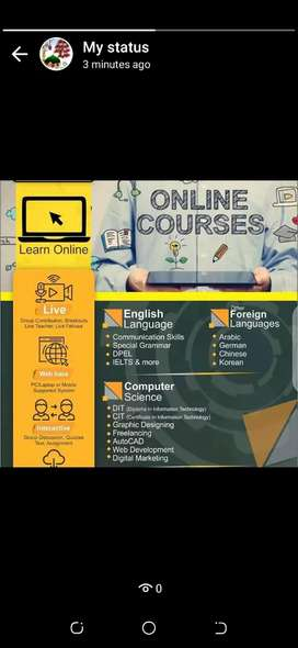 Online & Home based Tutors Available For Zoom/Google Classroom & Skype