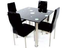 Meja + Kursi Makan MK-K 404 HI (Bentuk Meja Kotak)