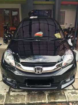 Mobilio E CVT 2014 Hitam KM Rendah