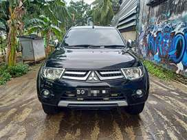 Pajero sport exceed 2012 nik 2011 at matic solar bs tt fortuner innova