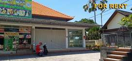 Di Sewakan Ruko Area Wisata 1 Lantai di Jl. Braban Kerobokan Bali