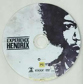 DVD impor ori Experience Hendrix - Tribute various artists (with box)
