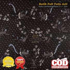 Kain Batik Tulis Asli Katun Halus Bahan Batik Bakaran Klimaran