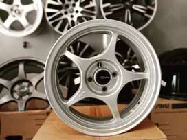 VELG ENKEI TULANG RING 16X7 PCD 4X100 ON FREED CAYLA VIOS BRIO DLL