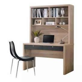 STUDY TABLE WITH BOOK SHELVES