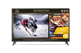 TV LED LG DIGITAL SIGNAGE  43 Inchi 43LV640S include bracket