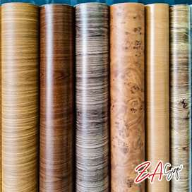 Wooden paper self adhesive for wood