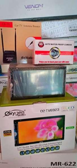 Paket: Dbldin tv fitur komplit+antenaTV+Camera+Psang