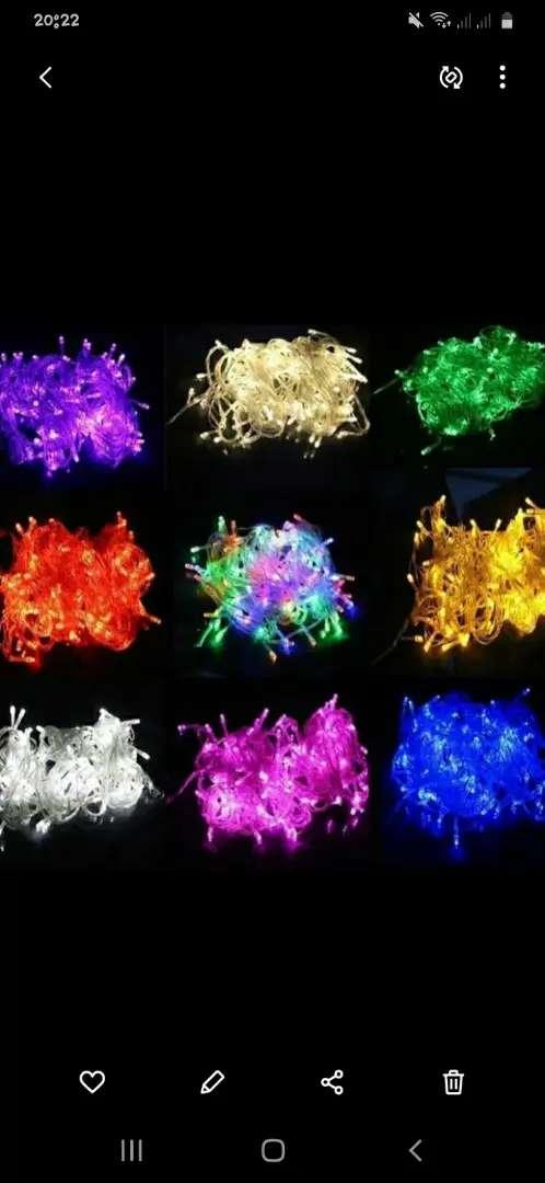 Lampu warna warni agustusan