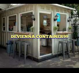 BOOTH CONTAINER / CONTAINER MAKANAN / CAFE RESTO YG KEKINIANN