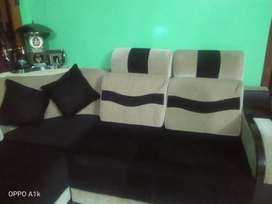 Only 3months old  L type sofa