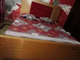 Bed two side tables with dressing