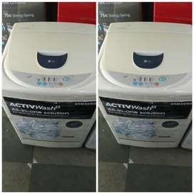 WHITE USED WASHING MACHINE IN GOOD CONDITION WITH FREE DELIVERY