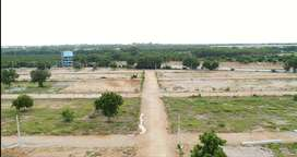 Open plots for sale at moinanabad on main road