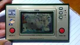 Gamewatch game Gimbot Nintendo Popeye