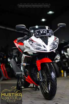 Yamaha YZF R15 2016.Km4rb.Simpanan.Jarang Pakai.Warno Mustika Kepuh