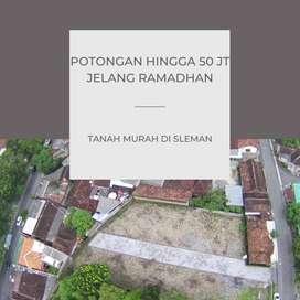 Tanah Murah Jogja Timur Siap Bangun di timur RS Bayangkara DISKON 20 J