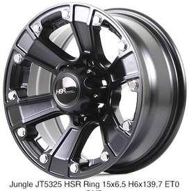 JUNGLE JT5325 HSR R15X65 H6X139,7 ET0 SMB