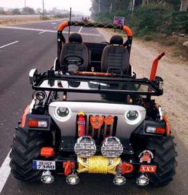 Open mdified jeep