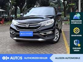[OLXAutos] Honda CRV 2015 2.0 CVT A/T Bensin Hitam #Allison