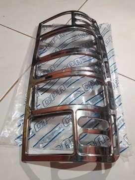 Garnis chrome lampu ekor kijang kapsul the 00-04 murah