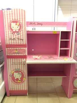 Meja Belajar Anak - Anak Karakter Hello Kitty 9004