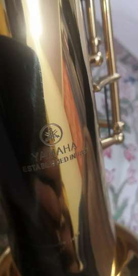 Yamaha soprano saxophone model yss 475