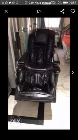 Recliner leather single chair