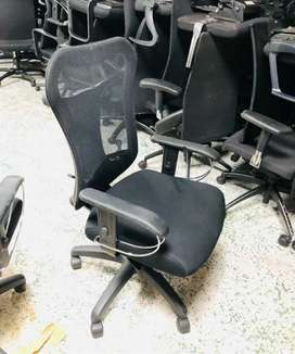 Office chairs of aster company with lumbar support