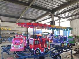 AF Odong odong rel naik turun  mainan eskavator edukasi anak