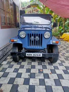 Mahindra long chase Jeep 1984 Diesel Good Condition