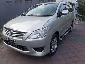 * Di Jual Toyota Kijang innova 2.0 G Vvt-i manual 2012 asli Bali *