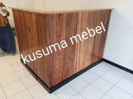 Meja kasir minibar cafe serbaguna