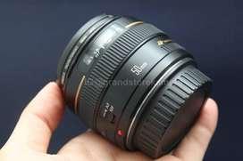 Fullset Murah Lensa FIX Canon 50mm F1.4